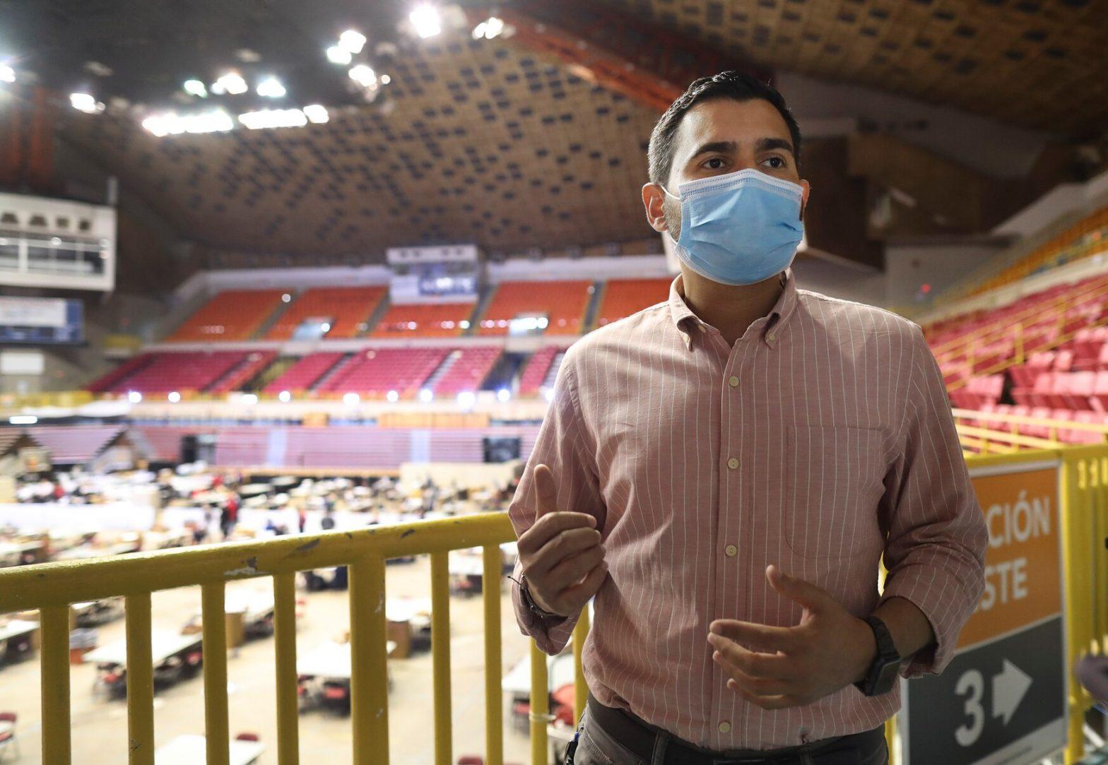Olvin Valentín, Comisionado Electoral del MVC