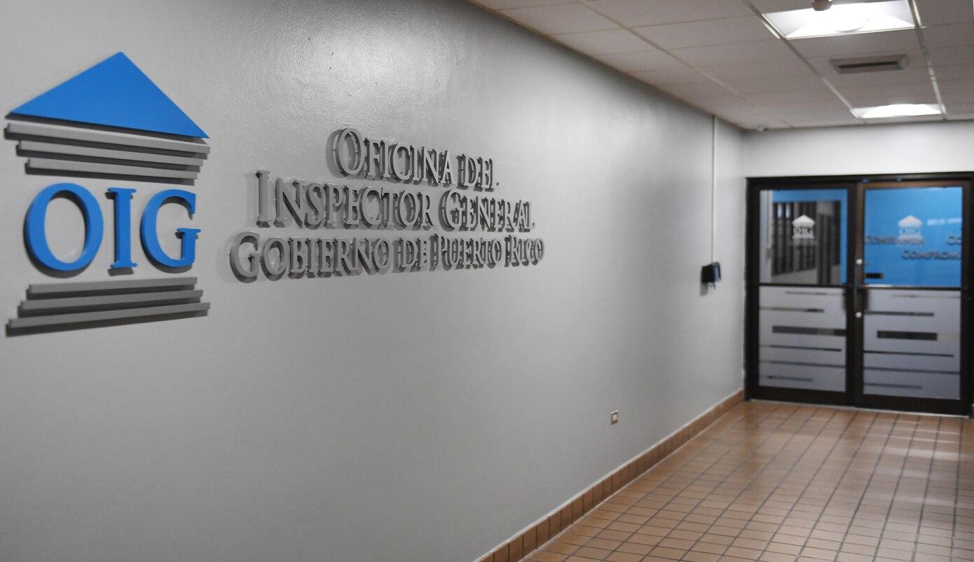 Foto de pared de la Oficina del Inspector General de Puerto Rico